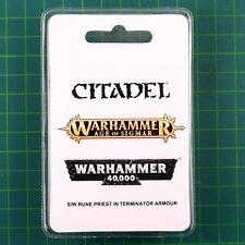 Space Wolves Rune Priest Terminator Warhammer 40K 11643