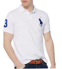 NWT - POLO Ralph Lauren Men's Big Pony Custom Fit Polo Shirts : S,M,L,XL & 2XL
