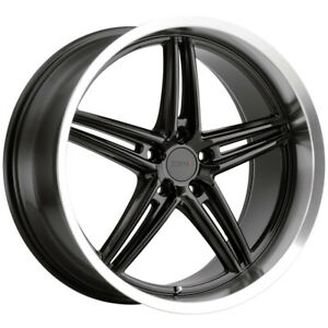 "TSW Variante 20x8.5 5x114.3 (5x4.5"") +40mm Gloss Black Wheel Rim"