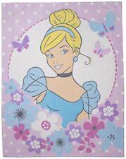 Disney Princess Rêves Couverture Polaire Enfants Filles Cendrillon Personnage