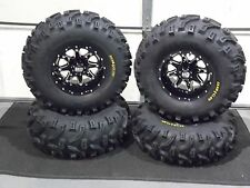 "27"" BEAR CLAW ATV TIRE & STI HD4 WHEEL KIT LIFETIME WARRANTY COMPLETE CAN1CA"