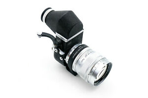 Visoflex II with OUBIO and 125mm Hektor f4,5 with lens shade and front cap