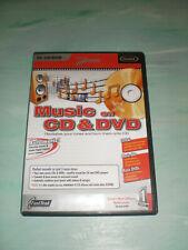 MAGIX MUSIC ON CD & DVD Musikprogramm PC MP3 WMA WAV mit Handbuch MUSIK OVP