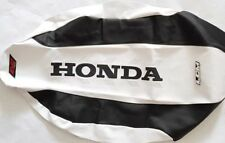 Seat Cover Honda TRX450  TRX 450 White & Black ULTRAGRIPP, Shipping Worldwide