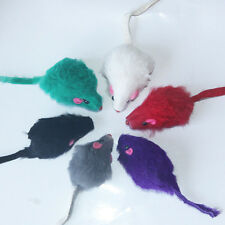 10pcs Cute False Mouse Toy For Cat Kitten Dog Pet Play Funny Novelty