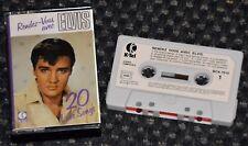 Cassette Audio Elvis Presley - Rendez-vous avec Elvis - 20 love songs - K7