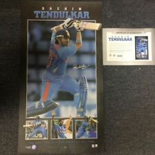 Signed Cricket Memorabilia Prints Sachin Tendulkar