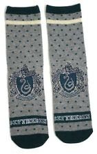 HARRY POTTER LADIES SLYTHERIN SCHOOL HOUSE SPOTTY SOCKS UK 4-8 USA 6-10
