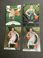 Donte DiVincenzo 2018-2019 PANINI / ROOKIE/ 2ND YR (4) CARD BUCKS  PLAYER LOT