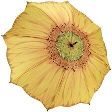 Galleria Sunflower Auto-Open Extra Large Quality Rain Stick Umbrella For Women,