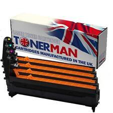 Image Drums for Oki C710 C711 43913805,6/,7,8 Full Set UK Reman.