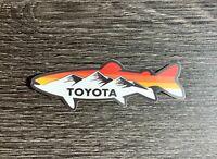 Toyota Fishing Sticker Decal Tundra Tacoma SR5 4X4 4Runner Fj Land Cruiser TRD