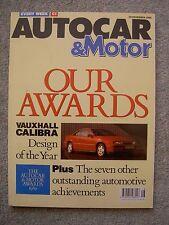 Autocar (29 Nov 1989) Mitsubishi Lancer GLXi, Charade GTti, Turbo Technics 205