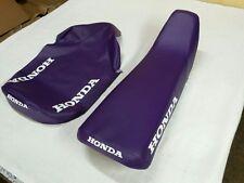 HONDA CR80R 1995 MODEL SEAT COVER PURPLE (H307)