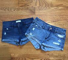 Abercrombie Kids Girls Youth Denim Short Lot Size 14