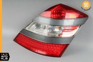 07-09 Mercedes W221 S550 S63 AMG Right Passenger Side Tail Light Lamp Gray OEM
