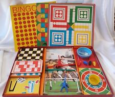 Winfield vintage Compendium of 9 Favourite Games Ludo Blow Football Christmas