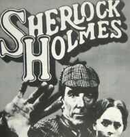 Sherlock Holmes Playbill 1975 John Wood Philip Locke Frank Dunlop Authur Doyle