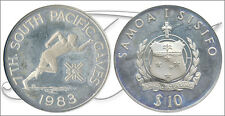 Samoa - Coins commemorative- Year: 1983 - number KM00054 - PROOF 10 Tala 1983