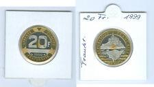 """FRANCIA 20 FRANCOS 1999"""" MONT Pieza Michel"""" Sin Circulación SOLO 25.500 piezas"""