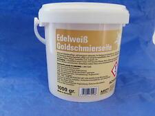 (EUR 4,67 / kg) Goldschmierseife,Schmierseife, Edelweiss Azett, 1kg Eimer, Neu,
