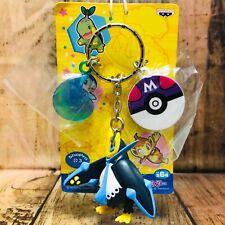 Banpresto 2008 Pokemon Diamond & Pearl Name Plate and Figure Keychain Empoleon