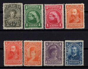 P131820/ NEWFOUNDLAND / CANADIAN PROV / SG # 83 / 90 MH COMPLETE - CV 225 $