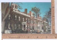 1960s  USED POST CARD the STARBUCK HOUSES, NANTUCKET, MA  Buick Woody in street