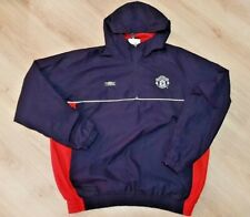 MANCHESTER UNITED 2000/2001 TRAINING FOOTBALL JACKET JERSEY TOP UMBRO SIZE M