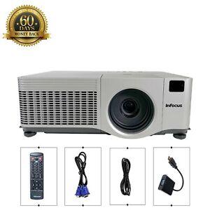 InFocus IN42+ 3LCD XGA Projector Bright 4000 Lumens HD 1080i HDMI-adapter bundle