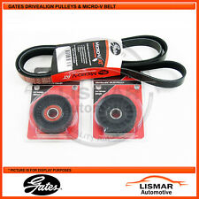 Gates Belt & Pulley Kit suits FORD FALCON FG 4.0Ltr, XR6, G6, G6E, G6ET, EcoLPI