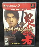 Onimusha Warlords  -  PS2 Playstation 2 Game Tested Working Complete