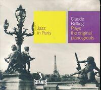 Jazz In Paris Claude Bolling CD NEW Digipak Plays The Original Piano Greats