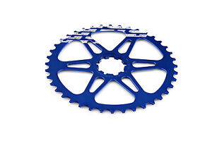 Relic 40T Final Gear Upgrade Kit for Shimano 10 Speed - 11/34T Cassette - Blue