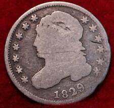 1829 Philadelphia Mint Silver Capped Bust Dime