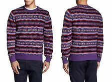 BONOBOS Thacher Fairisle Crewneck Lambswool Sweater Sz.XL  NWT