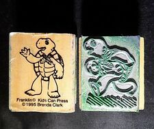 Rubber Stamps Franklin Turtle Brenda Clark Storybook Story Vintage 1995 Lot