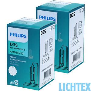 PHILIPS D3S 42403XV2 X-tremeVision gen2 +150% Xenon Scheinwerfer Lampe NEU DE