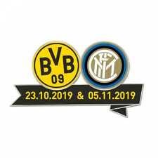 Borussia Dortmund Pin CL Begegnungspin Inter Mailand Champions League 19/20