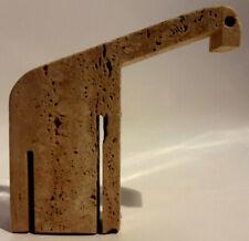 A. MangiarottiE. MariC. Nestore - Travertine Sculpture - Italian Modern Design