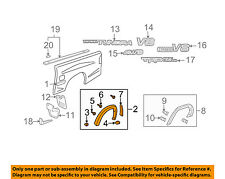 TOYOTA OEM 00-06 Tundra Bed-Wheel Well Fender Flare Right 758730C904