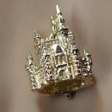 9 ct GOLD  second hand fairy castle charm