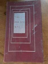 1st Edition c1950s The Rollei Way Camera Book Rolleiflex Rolleicord Photography