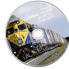 BS Train DVDs Set 6 (4 DVDs) QUBE Steamrail SCT PacNat Metro Trains Vline Europe