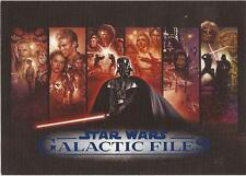 Star Wars Galactic Files - RARE Blue Parallel Set 350 Cards