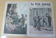 Le petit journal 1892 N° 77 Salon 1892 Billet de logement Le dénicheur tableaux