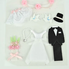 NEW Wedding Bridal Groom Scrapbook Craft Dimensional Sticker Embellishment DIY