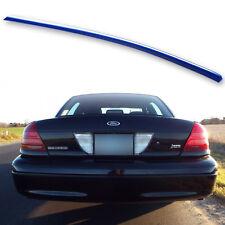 #Painted Trunk Lip Spoiler For Ford Crown Victoria sedan 98-12 Spirit Blue M7282