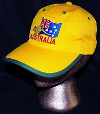 Made in Australia Southern Cross Flag Kangaroo National Colours Baseball Hat Cap