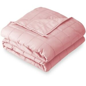 Bare Home Weighted Blanket - All-Natural 100% Cotton - Premium Heavy Blanket